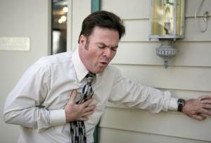 Вероятность отека слизистой оболочки бронхов и сердечной недостаточности